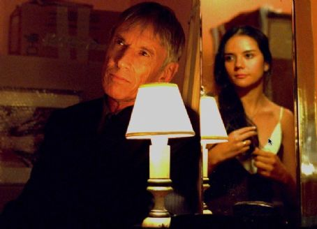 Scott Glenn  as Sinatra and Catalina Sandino Moreno as Angie in Nu Image Films' Journey to the End of the Night - 2006