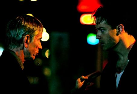 Scott Glenn  as Sinatra and Brendan Fraser as Paul in Nu Image Films' Journey to the End of the Night - 2006