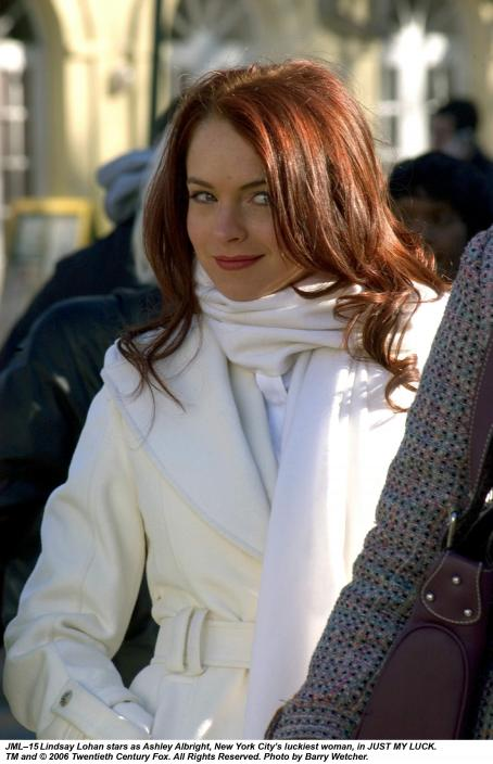 Ashley Albright Lindsay Lohan stars as , New York City's luckiest woman, in Just My Luck. TM and © 2006 Twentieth Century Fox. All Right Reserved. Photo by Barry Wecher.
