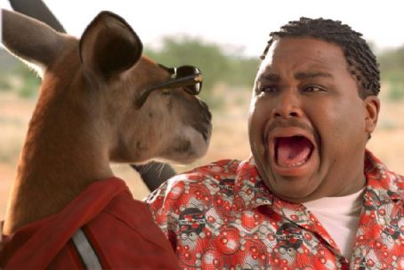 Anthony Anderson Kangaroo Jack and  in Castle Rock Entertainment's family action adventure comedy, 'Kangaroo Jack,' distributed by Warner Bros. Pictures.