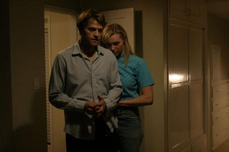Karla Homolka Misha Collins as Paul Bernardo and Laura Prepon as  in Joel Bender drama thriller Karla - 2006.