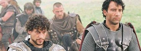 Ray Stevenson Ioan Gruffudd,  and Clive Owen in Antoine Fuqua's King Arthur - 2004