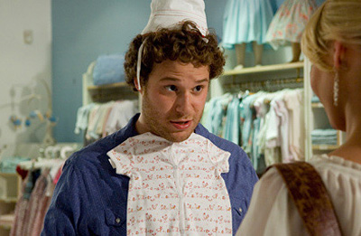 Knocked Up Ben Stone (Seth Rogen) in comedy romance ''