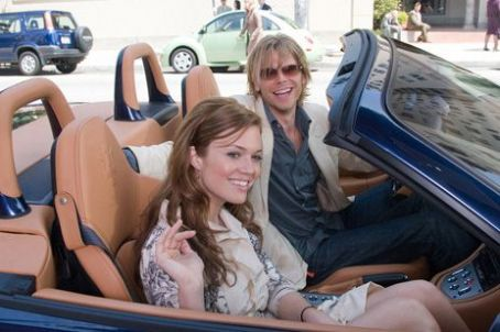 Eric Christian Olsen Sadie Jones (Mandy Moore) with Carlisle () in License to Wed - 2007