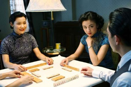 Lust, Caution Joan Chen (left), Tang Wei (center) and Tony Leung (right) star in Ang LeeÆs LUST, CAUTION, a Focus Features release.