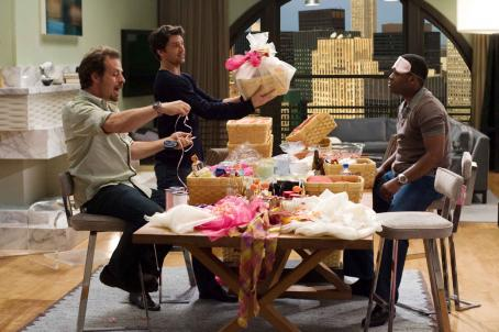 Richmond Arquette In Columbia Pictures' Made of Honor, When Tom (Patrick Dempsey, center) agrees to be Hannah's maid of honor, he infiltrates the world of bridesmaids - and gets some help from his friends, Gary (, left) and Felix (Kadeem Hardison,