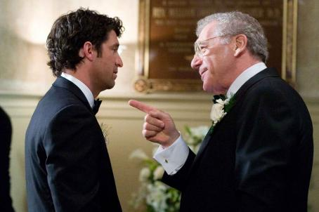 Sydney Pollack In Columbia Pictures' Made of Honor, Tom (Patrick Dempsey, left) gets some words of advice from his father, Tom Sr. (, right). Photo By:  Peter Iovino. ©2008 Columbia Pictures Industries, Inc. and Beverly Blvd LLC All Rights Reserved.