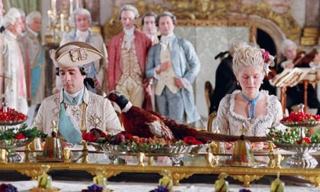 Marie Antoinette Jason Schwartzman star as Louis XVI and Kirsten Dunst as Marie-Antoinette in Columbia Pictures and Sony Pictures Entertainment '' 2006