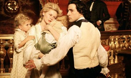 Jason Schwartzman Kirsten Dunst and  in 'Marie Antoinette.'