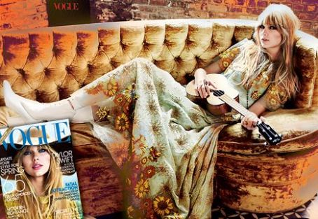 "Taylor Swift Covers Vogue and Talks ""Earth-Shattering, Crash-and-Burn Heartbreak"" on"