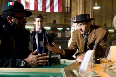 Spike Lee Left to right: , Joseph Gordon-Levitt, John Turturro. Photo: David Lee. ©2008 Buffalo Soldiers In Italy, LLC - ON My Own Produzioni Cinematografiche S.R.L.