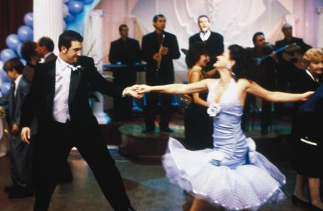 Joey Fatone  and Gia Carides in IFC's My Big Fat Greek Wedding - 2002