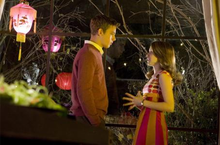 "Max Thieriot as Ned Nickerson and Emma Roberts as Nancy Drew in teen drama action/adventure ""Nancy Drew"""
