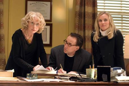 National Treasure: Book of Secrets Left to right: HELEN MIRREN, NICOLAS CAGE, DIANE KRUGER in '. Photo credit: Robert Zuckerman. © Disney Enterprises, Inc. and Jerry Bruckheimer, Inc. All rights reserved.