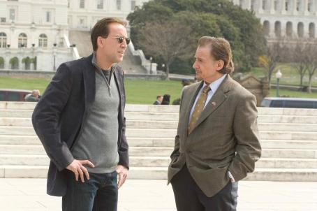 Harvey Keitel NICOLAS CAGE (left), HARVEY KEITEL (right) in National Treasure: Book of Secrets'. Photo credit: Robert Zuckerman. © Disney Enterprises, Inc. and Jerry Bruckheimer, Inc. All rights reserved.