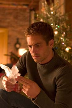 Paul Walker in a scene from the film.