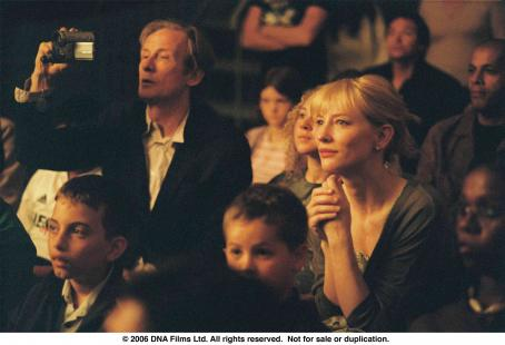 Notes on a Scandal Bill Nighy and Cate Blanchett in NOTES ON A SCANDAL. Photo Credit: Clive Coote