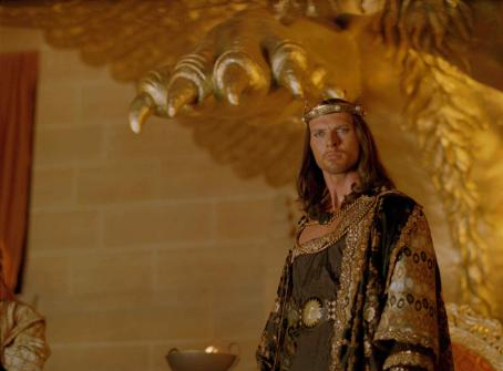 Xerxes King  (Luke Goss) in One Night with the King - 2006.