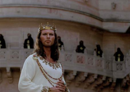 Luke Goss King Xerxes () in Michael O. Sajbel films 'One Night with the King'