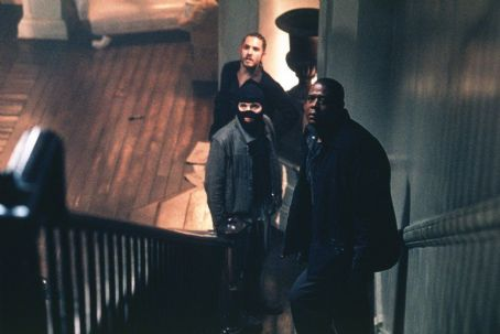 Panic Room Jared Leto, Dwight Yoakam and Forest Whitaker in Columbia's  - 2002