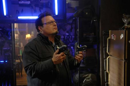 Wayne Knight  as 'Micro' in PUNISHER: WAR ZONE. Photo credit: Jonathan Wenk