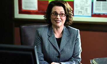 Megan Mullally  as The Principal in comedy movie Rebound distributed by 20th Century Fox Pictures.