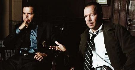 Donnie Wahlberg John Leguizamo as Det. Simon Perez and  as Det. Ted Riley in Overture Films' RIGHTEOUS KILL.