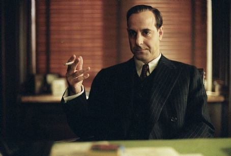 Stanley Tucci Frank Nitti () is Al Capone's right-hand man in DreamWorks Pictures' and Twentieth Century Fox's Road To Perdition - 2002