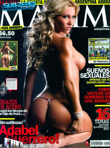 Adabel Guerrero - Maxim Magazine [Argentina] (March 2008)