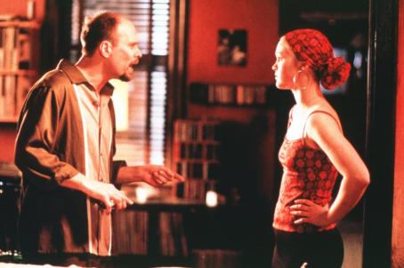 Terry Kinney  as Roy and Julia Stiles as Sara in Paramount's Save The Last Dance - 2001