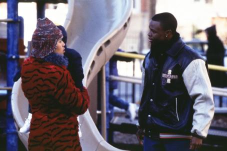 Sean Patrick Thomas Kerry Washington as Chenille and  as Derek in Paramount's Save The Last Dance - 2001