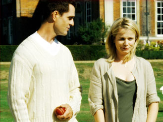 Emily Watson Rupert Everett (William Bule) and  (Anne Manning) in Fox Searchlight's Drama/Romance Separate Lies - 2005