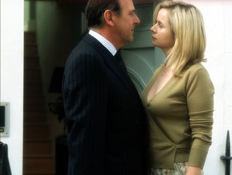 Emily Watson Tom Wilkinson (James Manning) and  (Anne Manning) in Fox Searchlight's Drama/Romance Separate Lies - 2005