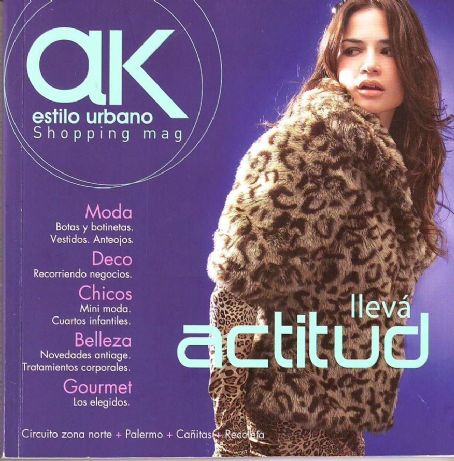 Natalia Botti - Ak Magazine Cover [Argentina] (April 2008)