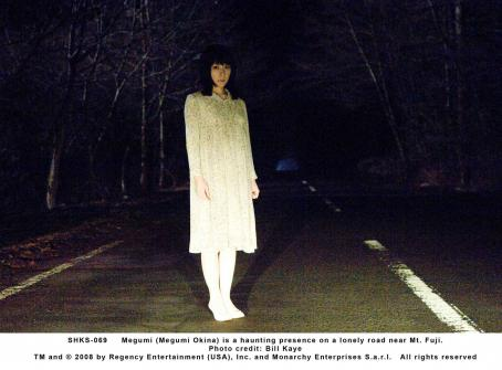 Megumi Okina Megumi () is a haunting presence on a lonely road near Mt. Fuji. Photo credit: Bill Kaye.