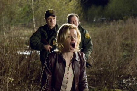 Nathan Fillion Elizabeth Banks (Starla Grant),  (Bill Pardy), and Don Thompson (Wally Whale) in Universal Pictures' Slithers