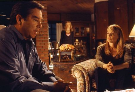 Beau Bridges Left:  as Steven; Right: Linda Hamilton as Bridget