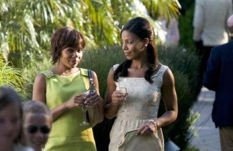 Wendy Raquel Robinson  (left) and Sanaa Lathan (right) star in Sanaa Hamri's Something New, a Focus Features release. Photo by Sidney Baldwin.