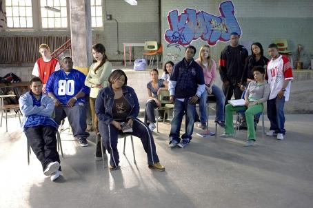 "Jasika Nicole (left to right) Danta Basco as ""Ramos"", Jonathan Mallen as ""Kurd"", Brandon Andrews as ""Monster"", Jenna Dewan as ""Sasha"", Shawand McKenzie as ""Big Girl"", Laura Ricketts as detention kid #2, Darrel"