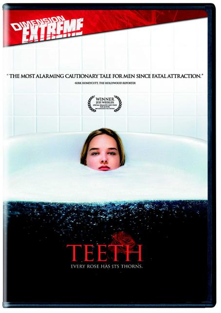 Jess Weixler Teeth DVD Cover Front