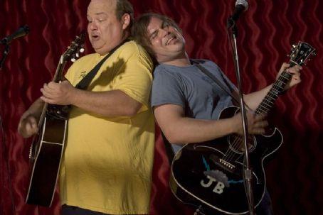 "Kyle Gass  stars as ""KG"" and Jack Black stars as ""JB"" in New Line Cinema's upcoming comedy Tenacious D in: The Pick Of Destiny."