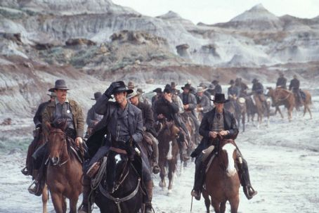 Randy Travis Robert Patrick, Dylan McDermott and  in Dimension's Texas Rangers - 2001