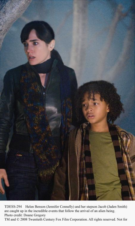 Jaden Smith Helen Benson (Jennifer Connelly) and her stepson Jacob () are caught up in the incredible events that follow the arrival of an alien being. Photo credit: Doane Gregory. TM and ©2008 Twentieth Century Fox Film Corporation. All rights reserved.