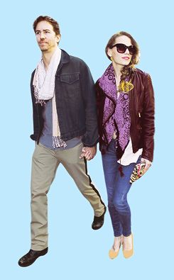 Bethany Joy Lenz and Wes Ramsey