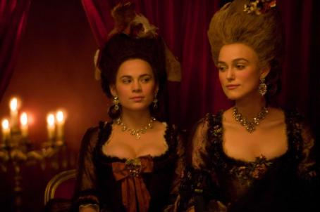 "Hayley Atwell  as ""Elizabeth 'Bess' Foster"" and Keira Knightley as ""Georgiana, the Duchess of Devonshire"" star in THE DUCHESS, a Paramount Vantage release. Photo by Peter Mountain. (c) 2008 by PARAMOUNT VANTAGE, a Divisi"