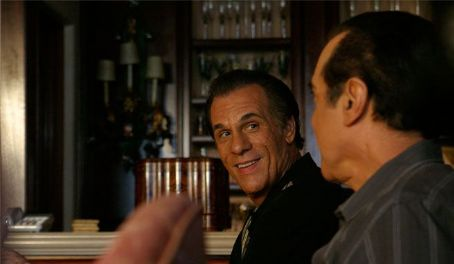 Robert Davi Danny () with George (Chazz Palminteri) stars in CAVU Releasing 'The Dukes.'