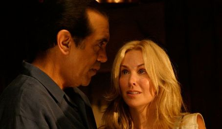 The Dukes George (Chazz Palminteri) and Katherine (Eloise DeJoria) in