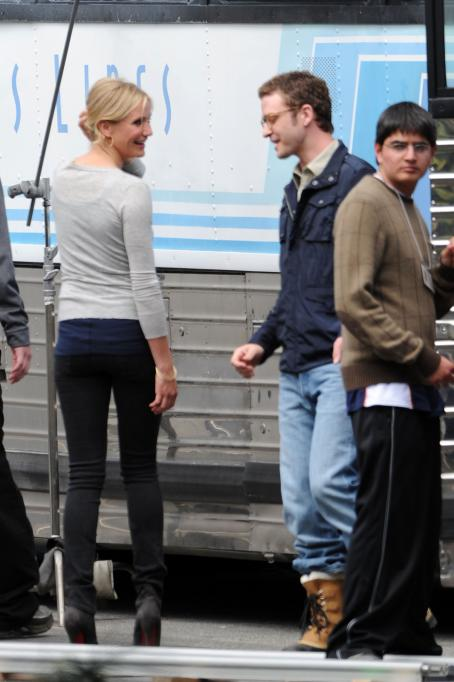 Bad Teacher Cameron Diaz & Justin Timberlake On