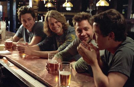Michael Weston L to R: Zach Braff, Eric Christian Olsen,  and Casey Affleck in Paramount Pictures', The Last Kiss - 2006
