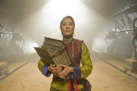 Michelle Yeoh MICHELLE YEOH as Sorceress Zi Yuan.